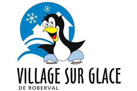 Village sur glace